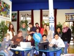 Die Jugendlichen hatten viel Spaß bei der Aktion Crossover Babylon.